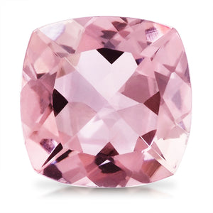 2.04 CARAT CUSHION NATURAL PINK MORGANITE