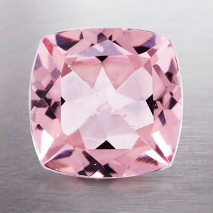 1.77 CARAT CUSHION NATURAL PINK MORGANITE