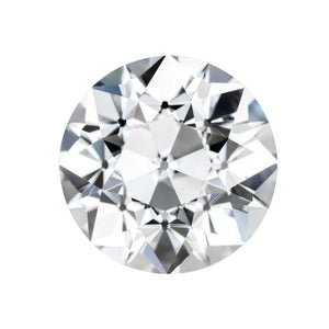 Forever One Round Old European Cut Near-Colorless Moissanite Gemstone