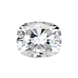 Forever One Elongated Cushion Colorless Moissanite Gemstone