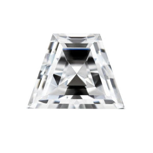 Forever One Trapezoid Step Cut Near-Colorless Moissanite Gemstone