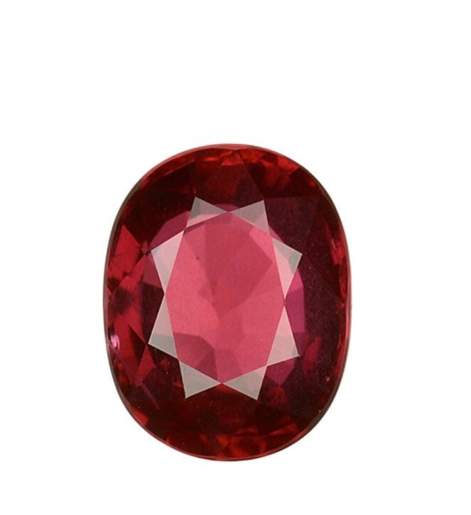5.65 Carat Oval Shape Natural Unheated Ruby Cabochon Cut 8.6X11.2X5.5 MM Loose Gemstone Natural Untreated Ruby Cabs For Ring Or Pendant