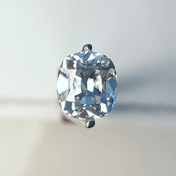 Harro Gem Antique Cushion (Elongated) Pristine Moissanite