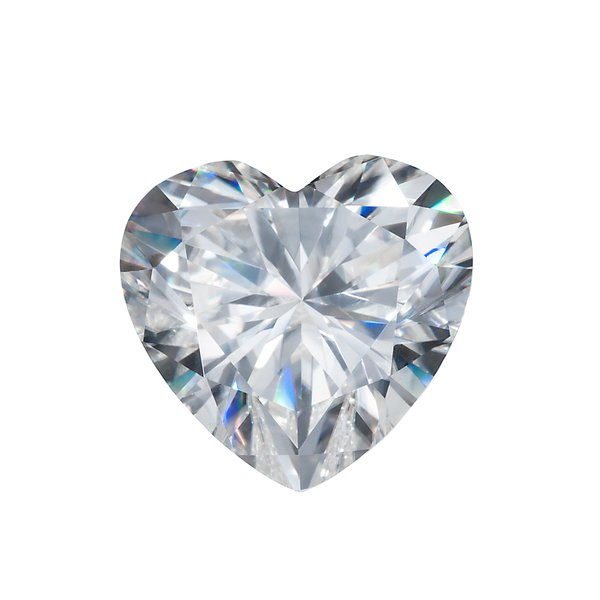Harro Gem Heart Pristine Moissanite