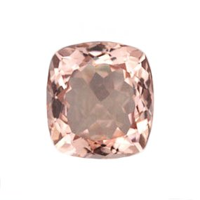 Morganite – Peach Pink Pristine Moissanite