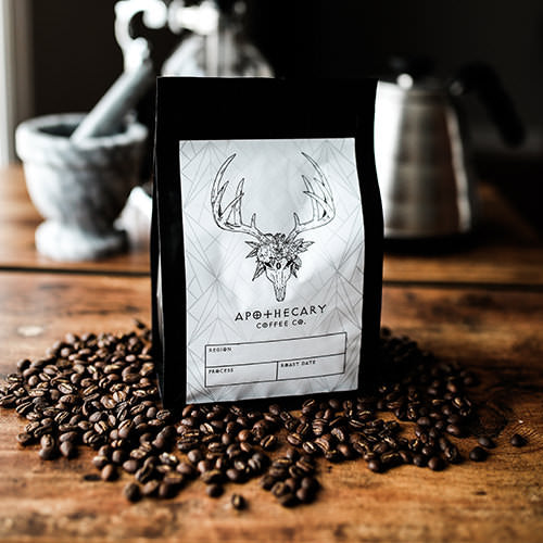 Apothecary Coffee Co. bag