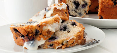6-Ingredient Blueberry Coffee Cake