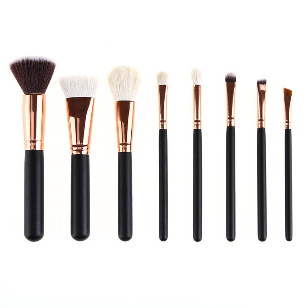 LUX BLUSH GOLD PLATED BRUSH KIT