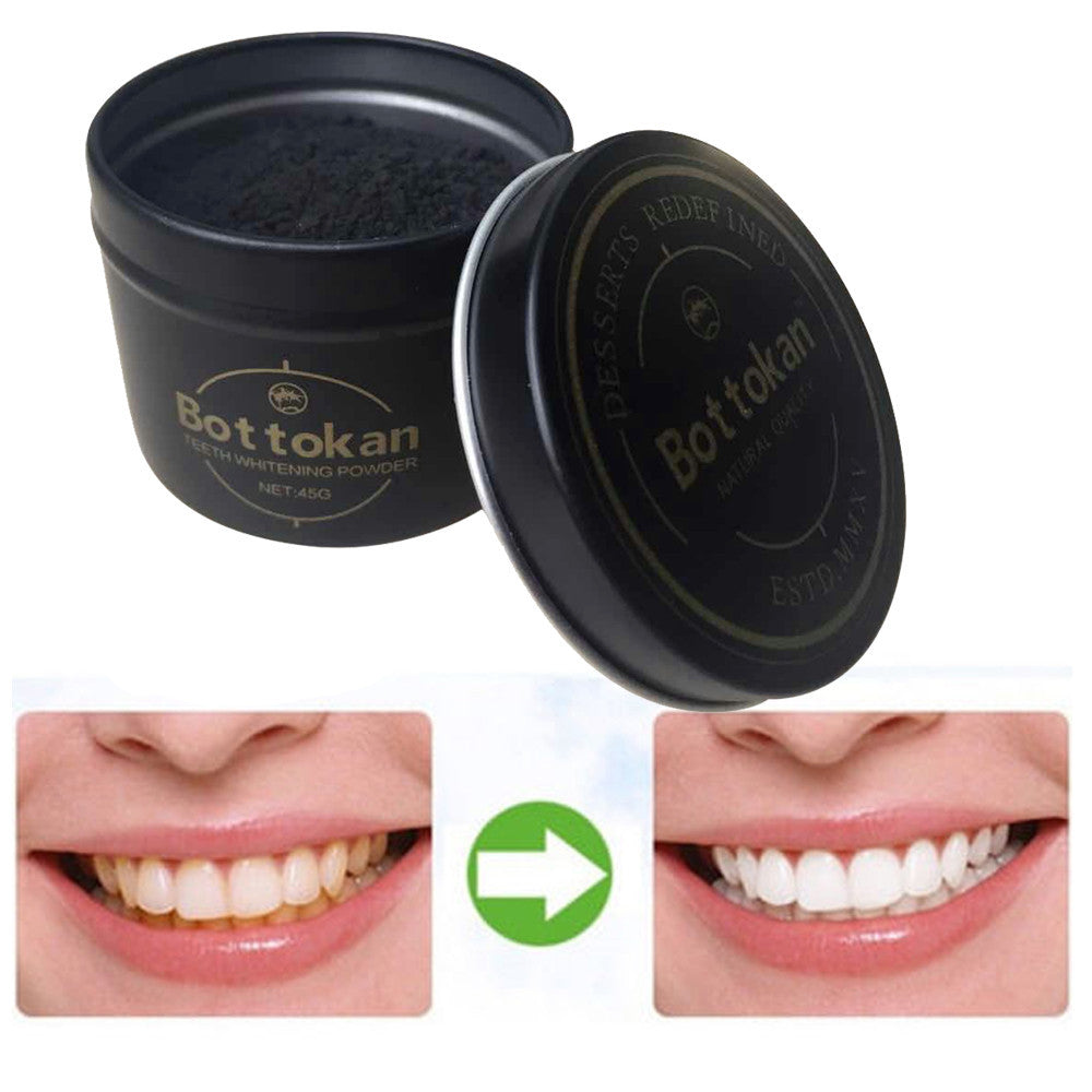 LUX BLUSH ORGANIC CHARCOAL TEETH WHITENER