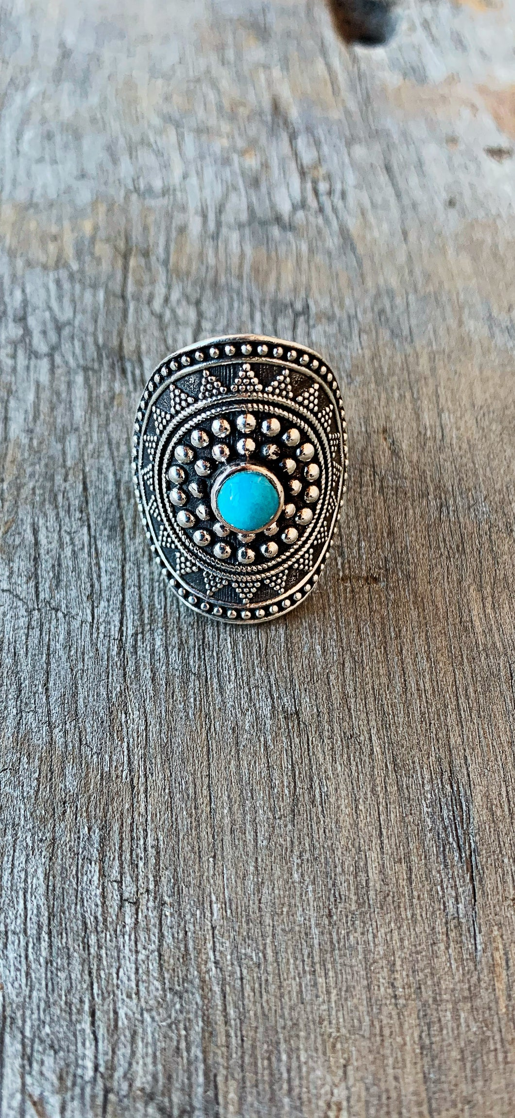 Eclectic Turquoise Ring