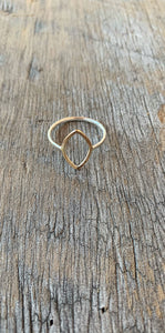 14kt Gold Fill Open Ring