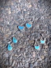 Open Turquoise Earrings