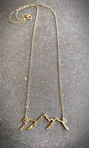Open Mountain Necklace