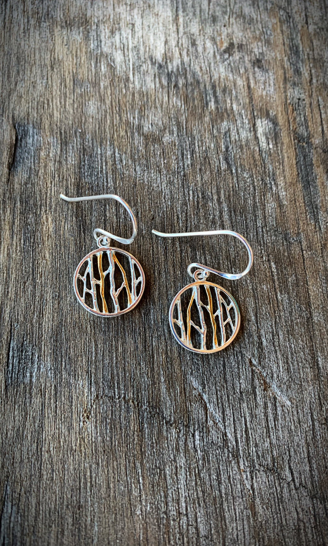 Aspen Tree Earrings