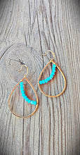 14kt Gold Fill Turquoise Earrings