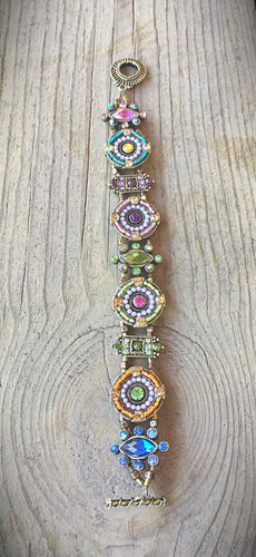 Crystal and Enamel Bracelet