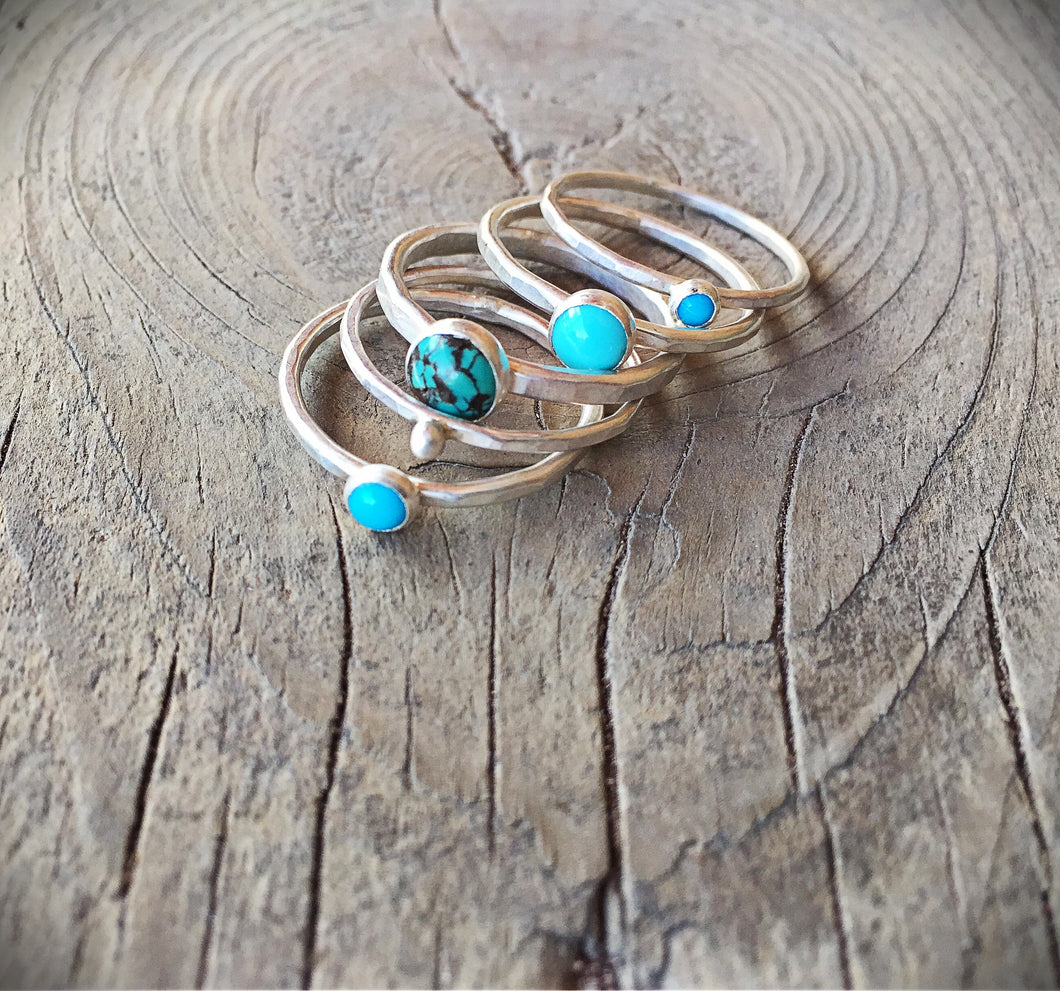 Turquoise Stack Ring