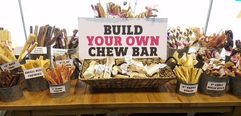 Build your own chew bar pet store