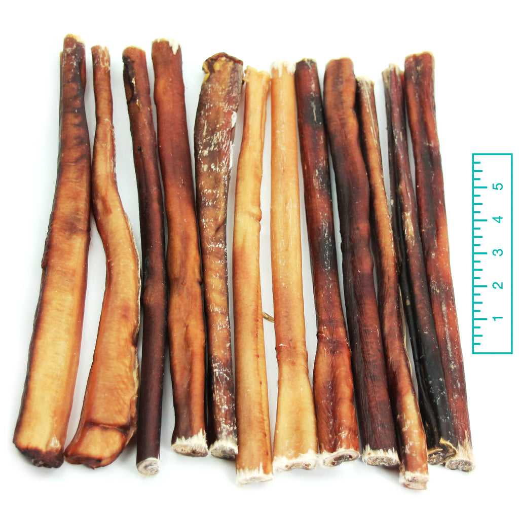 "12"" Thick Bully Sticks - Odor Free"