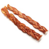 "12"" Braided Bully Stick Odor Free - 2 Pack"