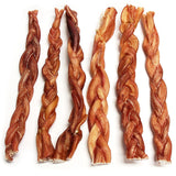 "12"" Braided Bully Stick Odor Free (Bulk)"