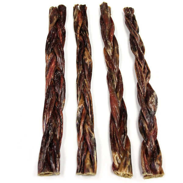 "12"" Braided Beef Gullets (Bulk)"