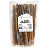 "12"" Skinny Bully Sticks - Natural Scent (Bulk)"