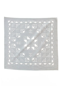 Geo Star Flower Bandana