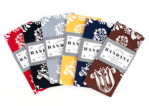 Floral Bandana Set of 6