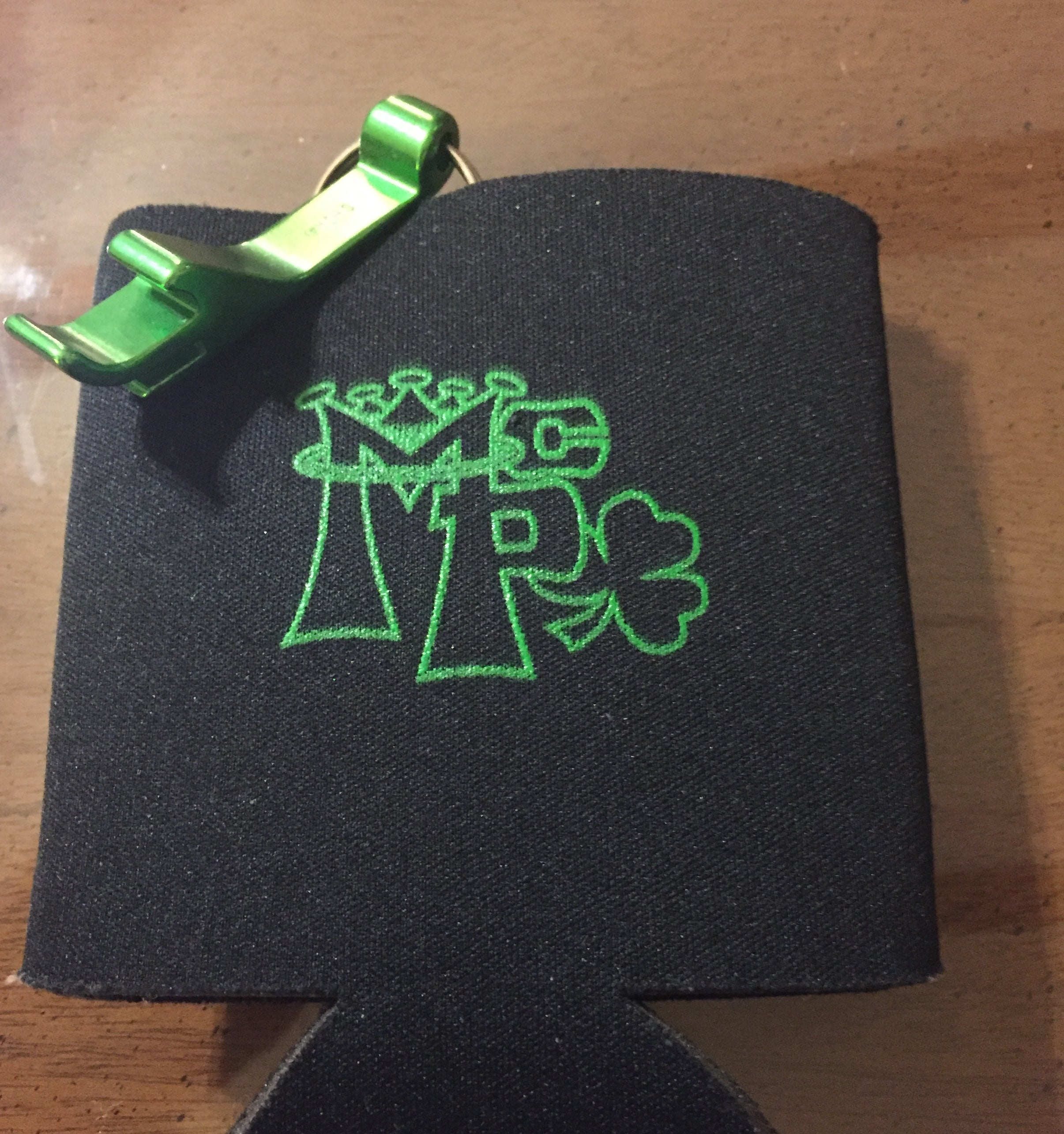 Mcpride,official party coozie with attached bottle opener.(Free Shipping!)