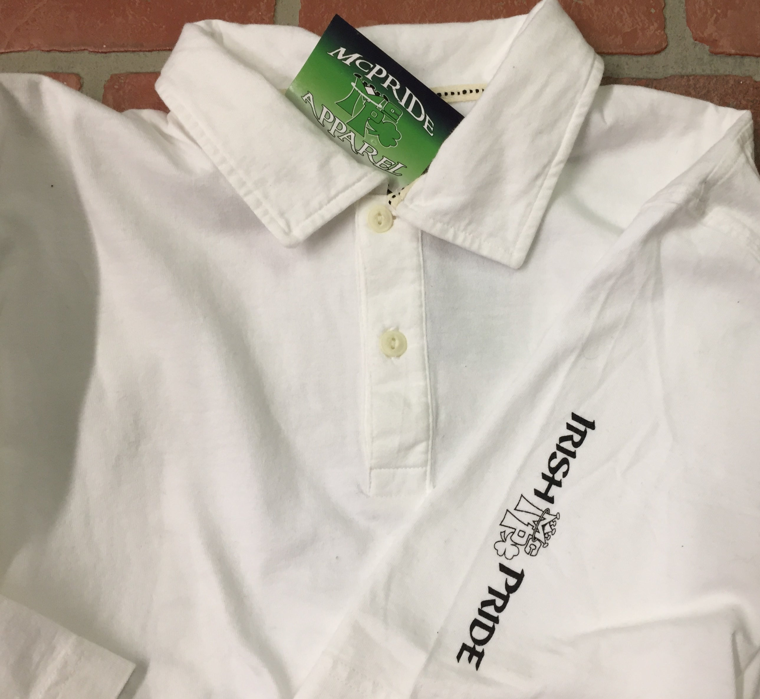 Irish pride polo