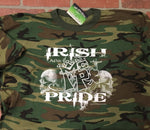 Irish Pride camo tee .
