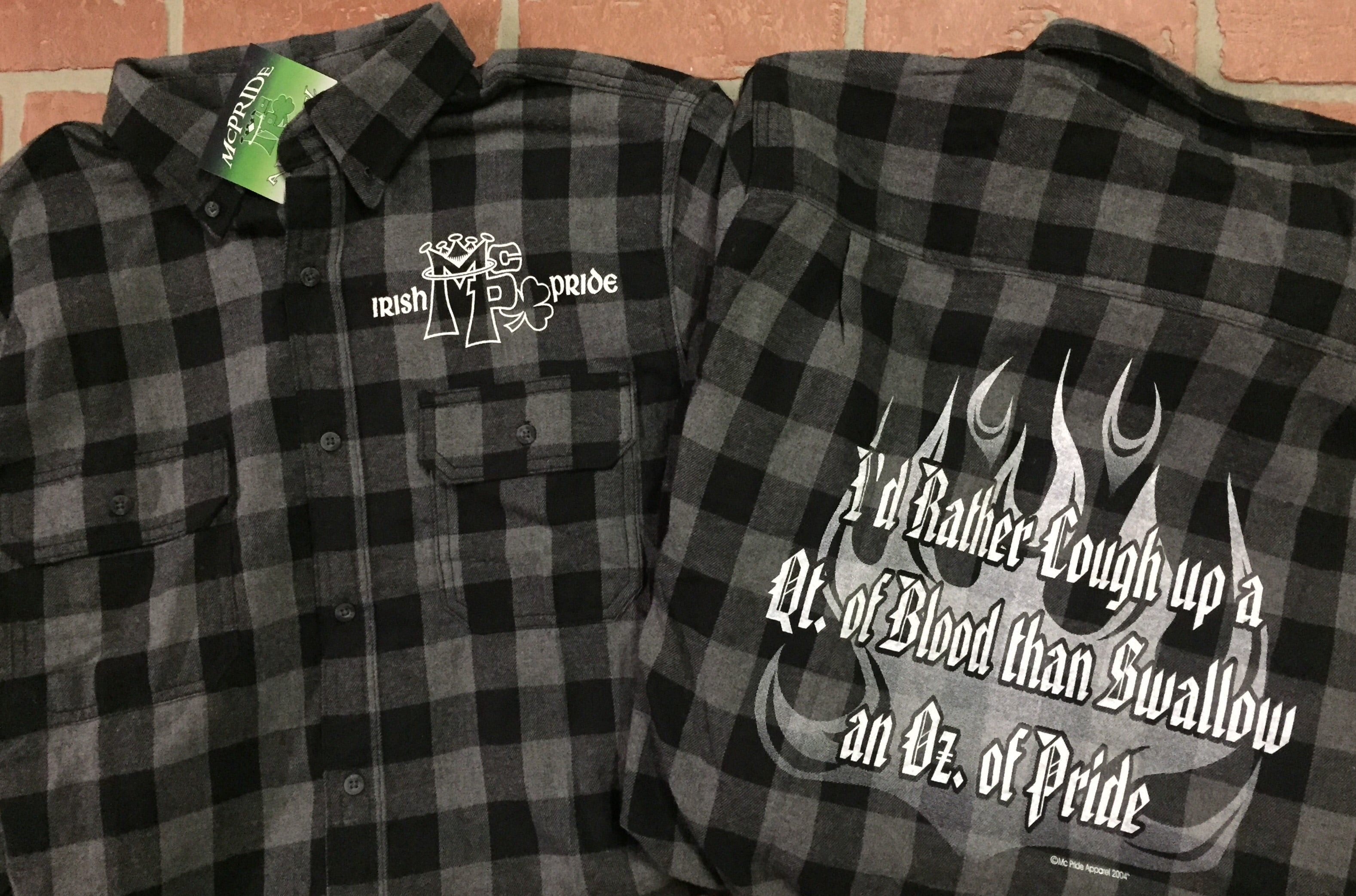Flannel shirt(grey and black)