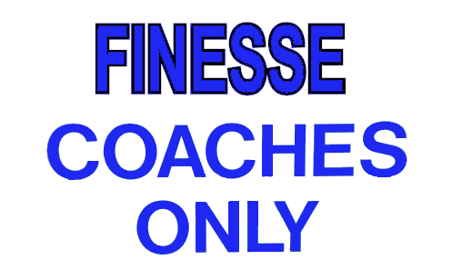 Finesse Coaches Gear