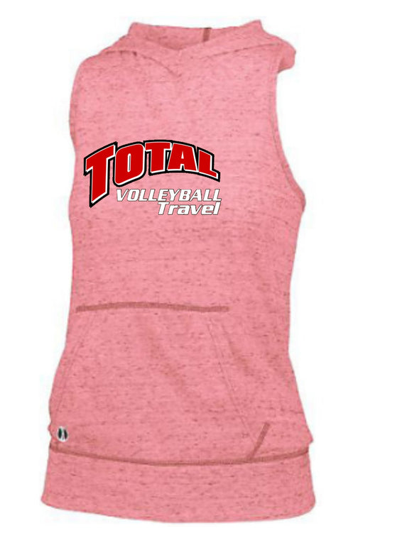 Advocate Ladies Hooded Tank Holloway ( Total Travel Volleyball)