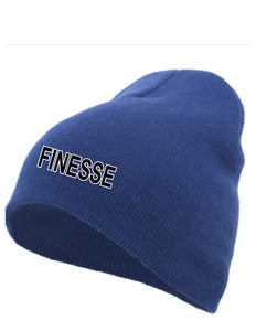 Basic Knit Beanie  (Finesse)
