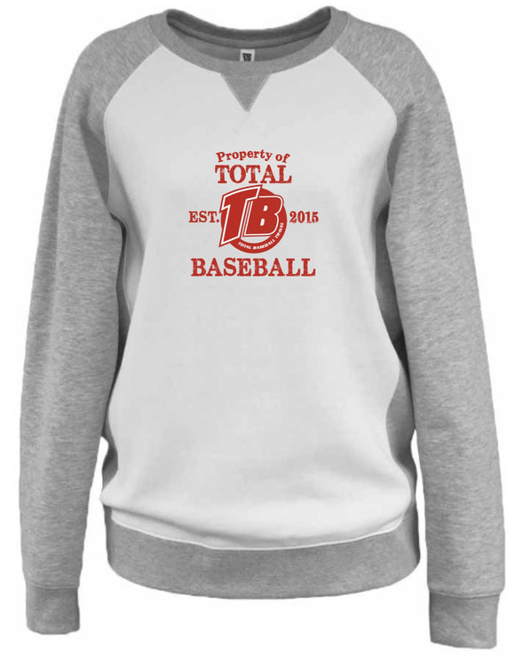 Pennant V-Notch Crew (Total Travel Baseball)