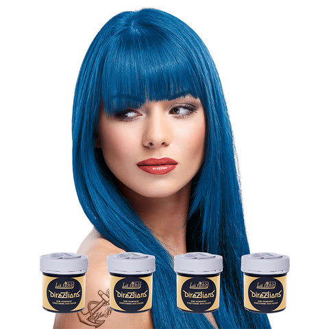 Coloring hair balsam -  denimblue