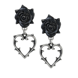 Wounded Love Earrings goth unite