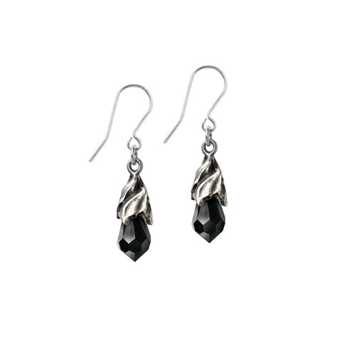 Empyrean Tear Earrings (Black)