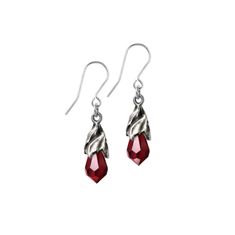 Empyrean Tear Earrings (Red)