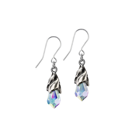 Empyrean Tear Earrings (Crystal)