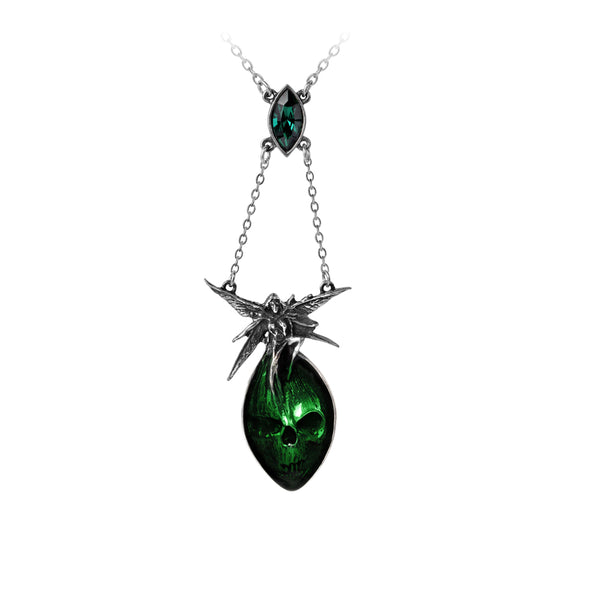 Gothic Absinthe Fairy Necklace