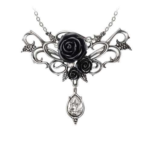 Bacchanal Rose Necklace at goth unite