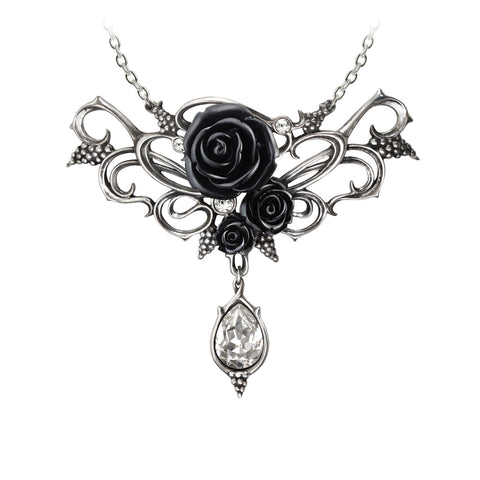 Bacchanal Rose Necklace - Goth Unite