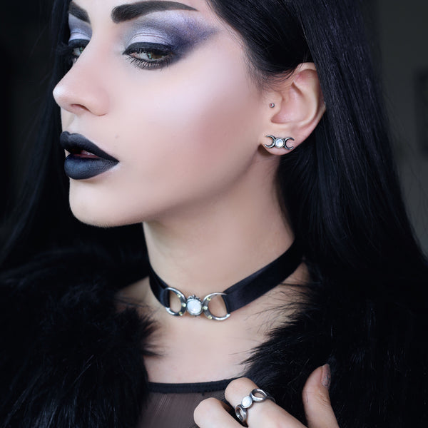 Triple Goddess Choker