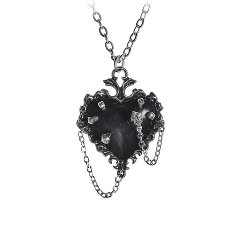 Witches Heart Pendant - Goth Unite