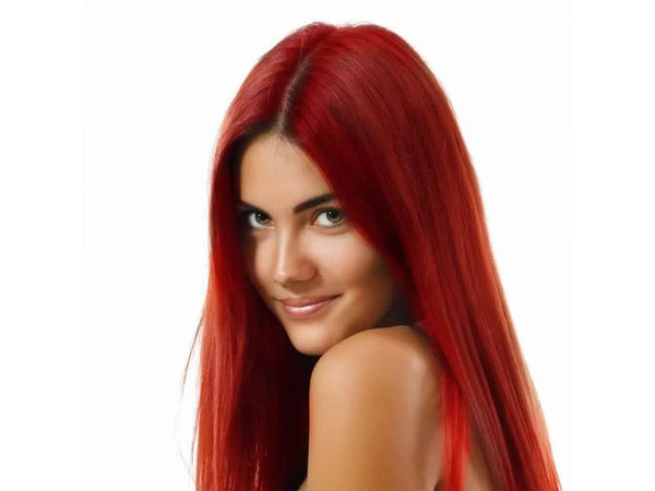 Coloring hair balsam - Poppy red