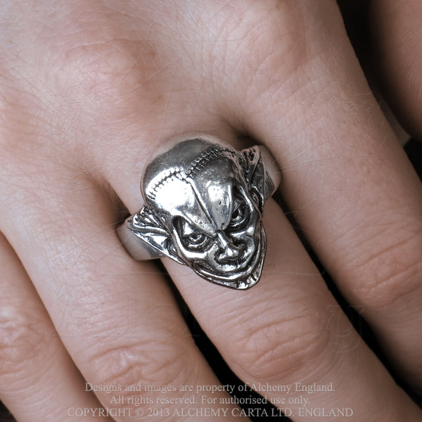 M'era Luna Evil Clown Ring