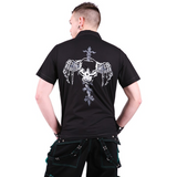 Goth cross shirt
